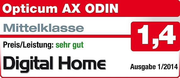 Opticum HD AX-ODIN E2 Linux HDTV Sat Receiver